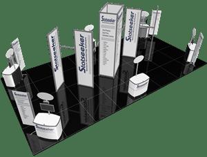 Custom Modular Display Stand