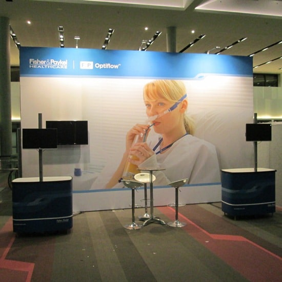 Fisher & Paykel Healthcare Display