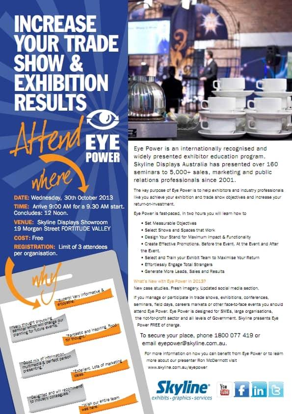 Brisbane Eye Power 30-10-13
