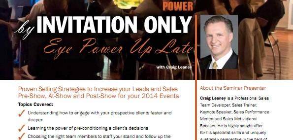 Eyepower PLUS Seminar 26-11-13