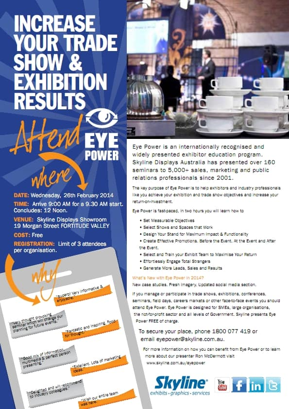 Eye Power Seminar 2014