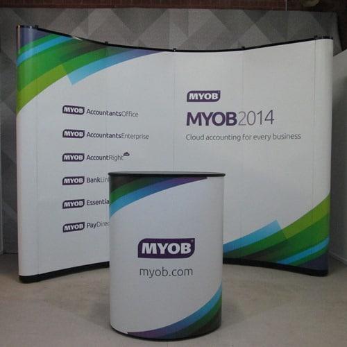 MYOB Mirage Display