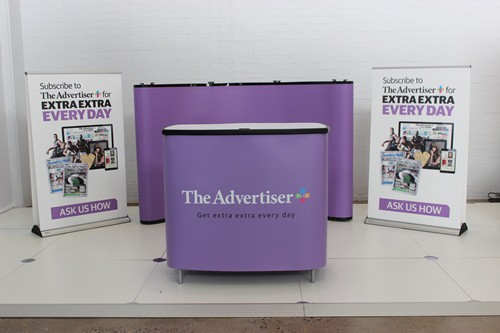News Limited Shopping Centre Display