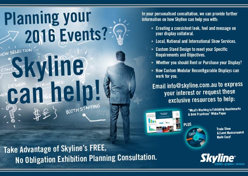 2016 Event Planning