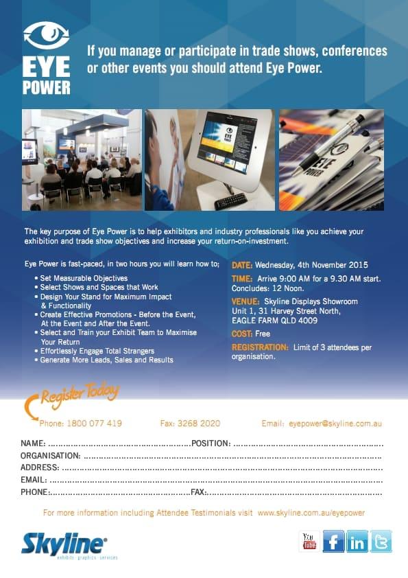 Eye Power Seminar