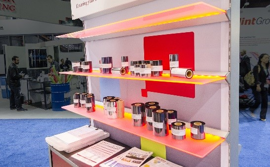Programmable LED Shelves