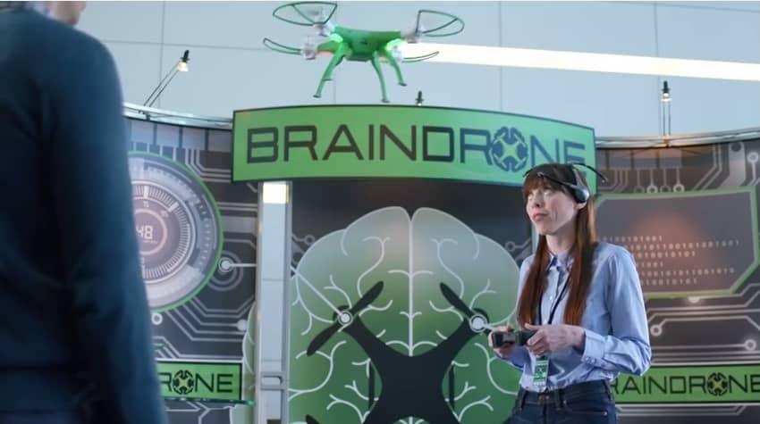 GE Brain Drone