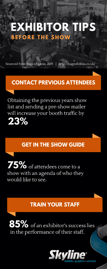 Skyline Fact Friday - Exhibitor Tips - Before the Show