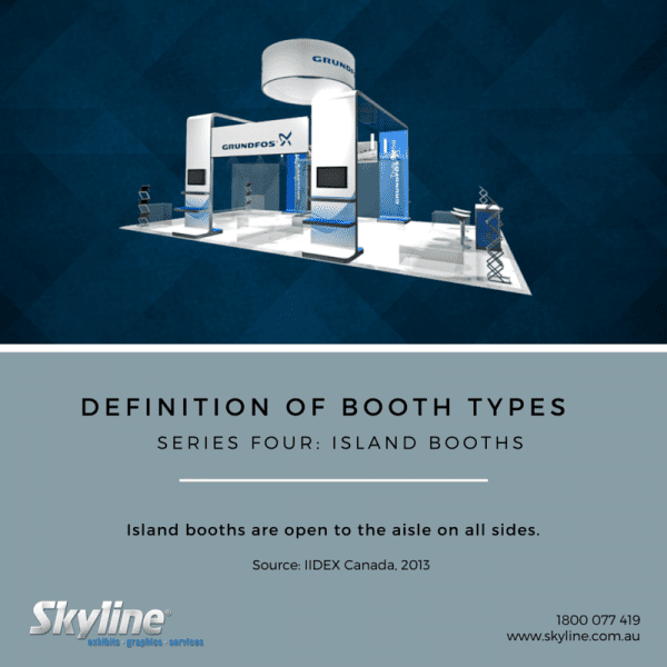 Skyline Fact Friday - Island Booth Description