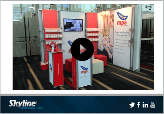 Skyline Video of the Month - 3x3m Booth Ideas
