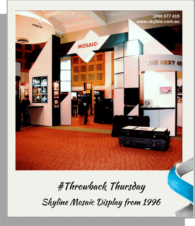 Throwback Thursday - Mosaic Display 1996