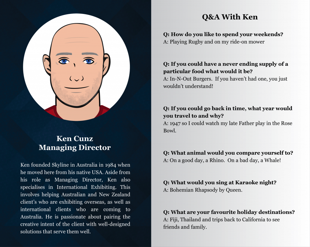 Staff Profile Ken