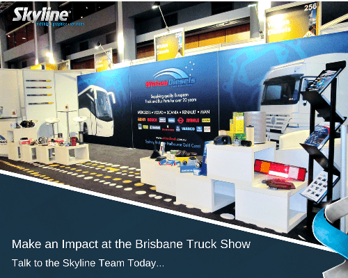 Exhibiting at the Brisbane Truck Show