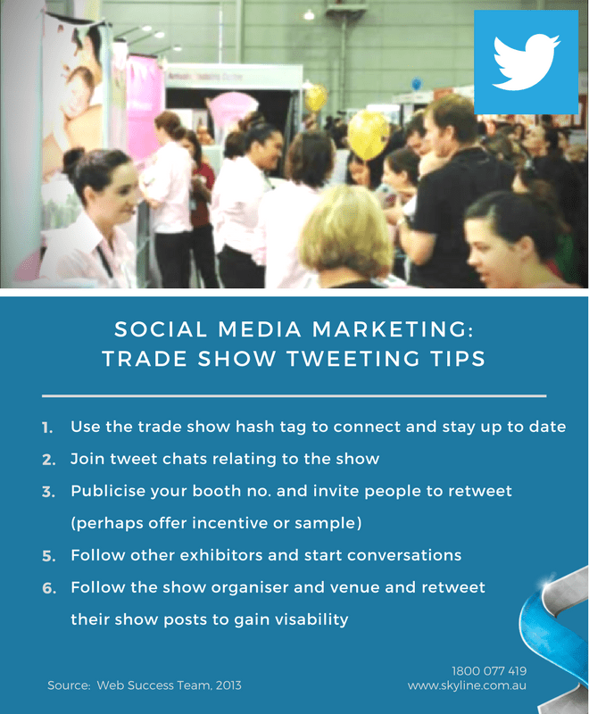 Trade Show Tweeting Tips