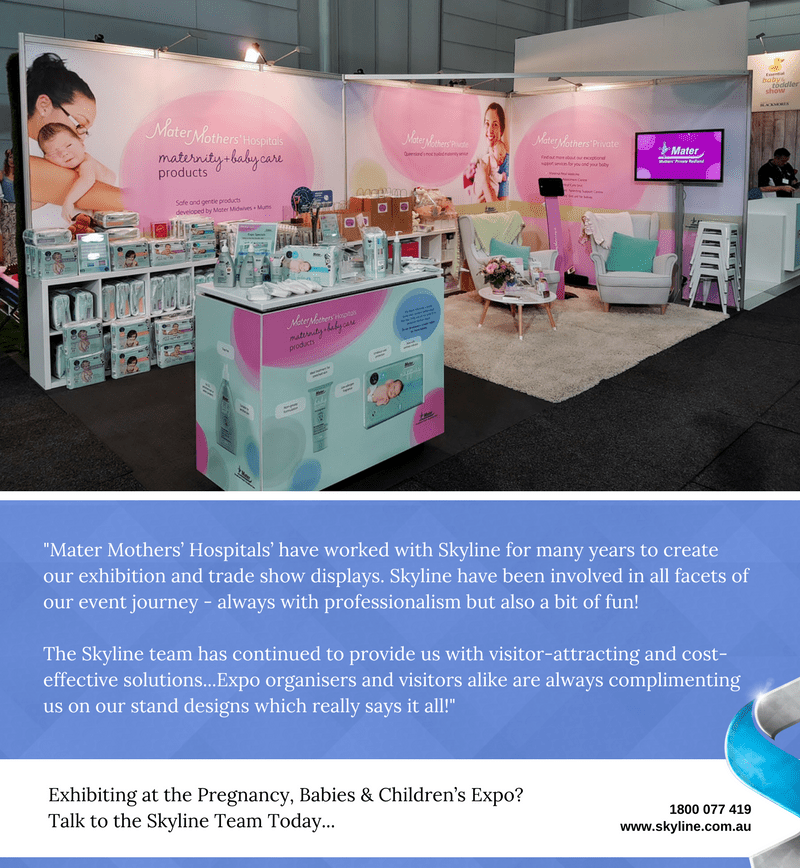Mater Mothers at Pregnancy Expo (8)