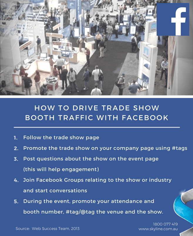 Trade Show Promotion - Facebook