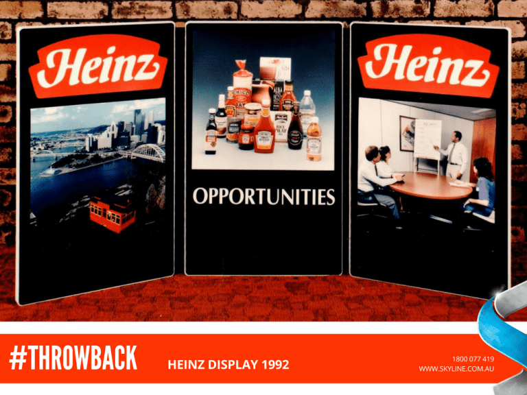 Heinz Display 1992