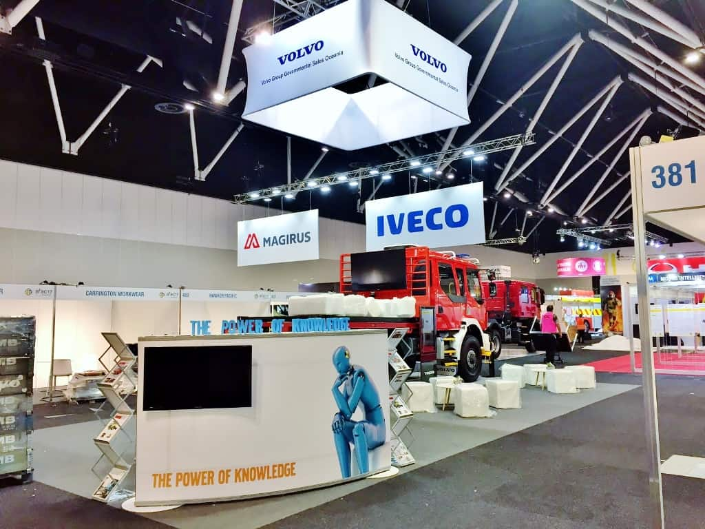 Volvo Trade Show Display for AFAC 17