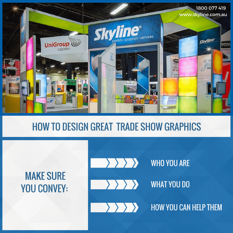 How to design great trade show graphics
