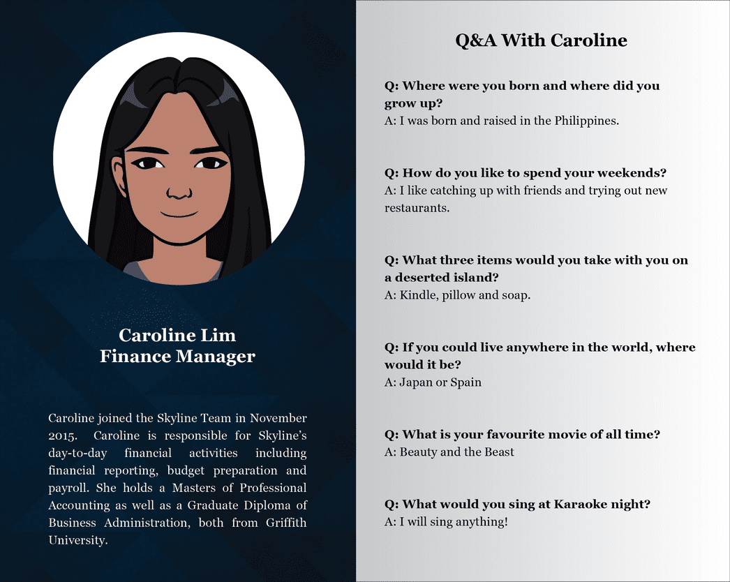 Staff Profiles  - Caroline - Copy