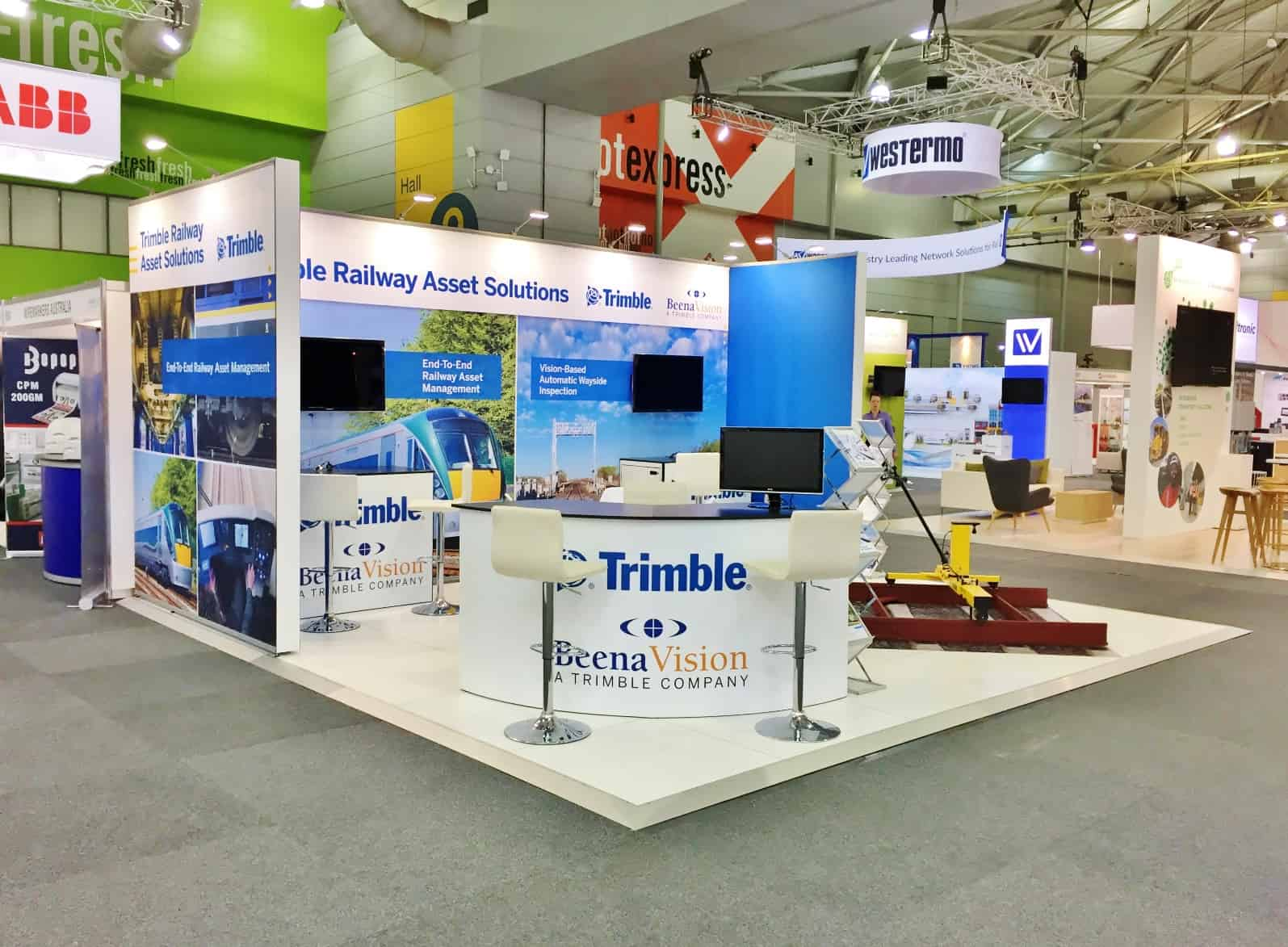 Trimble and Beena Vision at AusRAIL