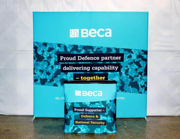 Beca Stretch Fabric Wall Exhibitor Kit