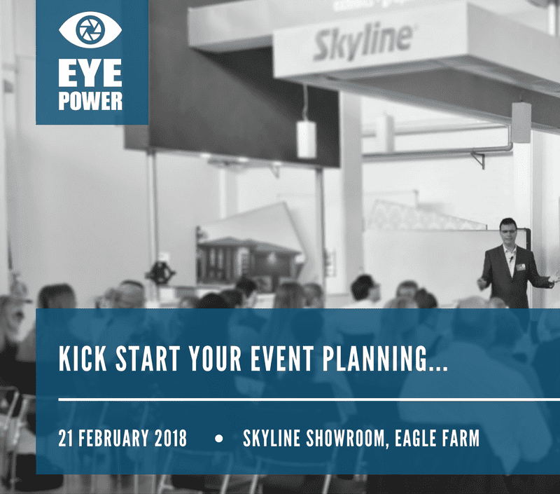 kick start your event planning...