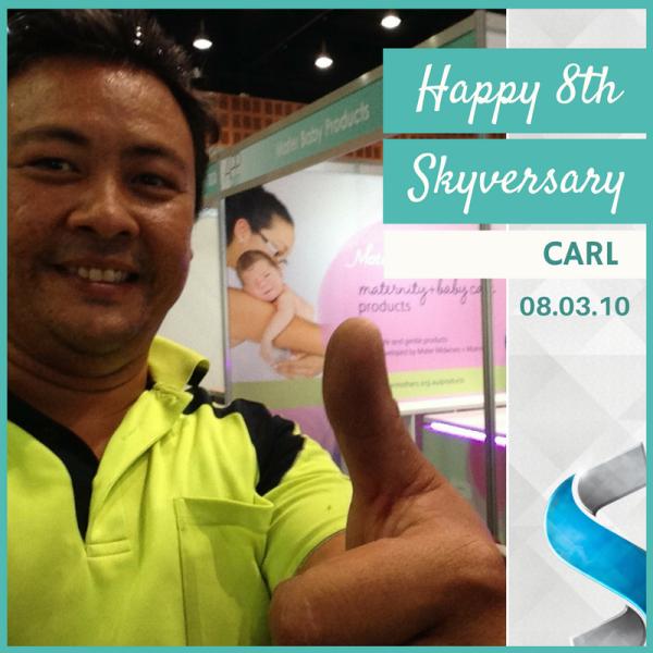 Happy Skyversary Carl - Web