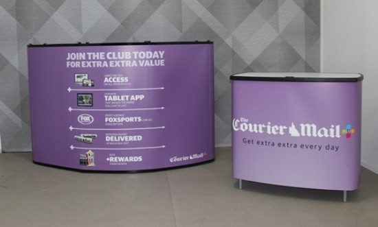 Courier-Mail Portable Displays