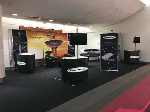 Monitoring Oz at Brisbane Truck Show 2015