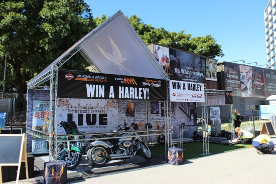 Triple M Brisbane Ekka Display