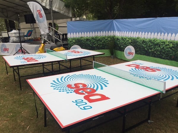 Branded Table Tennis Tables
