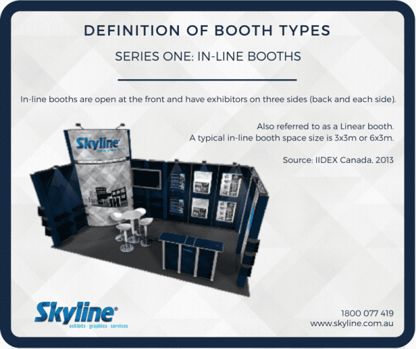Skyline Fact Friday - In-line Booth Description