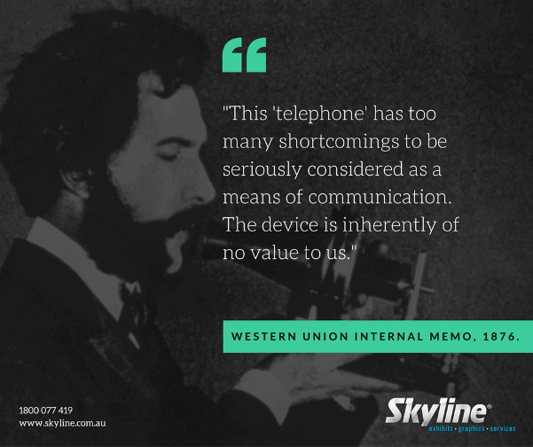 Throwback Thursday - Poor Future Prediction of the Telephone | Skyline