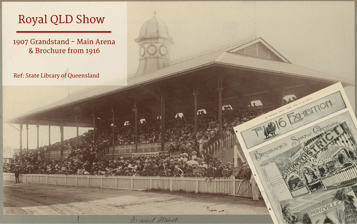 Skyline Throwback Thursday - Royal QLD Show