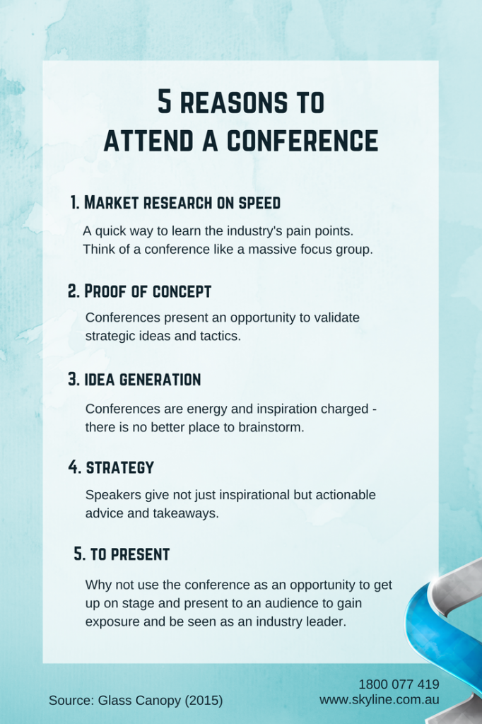 5 Reasons to Attend a Conference