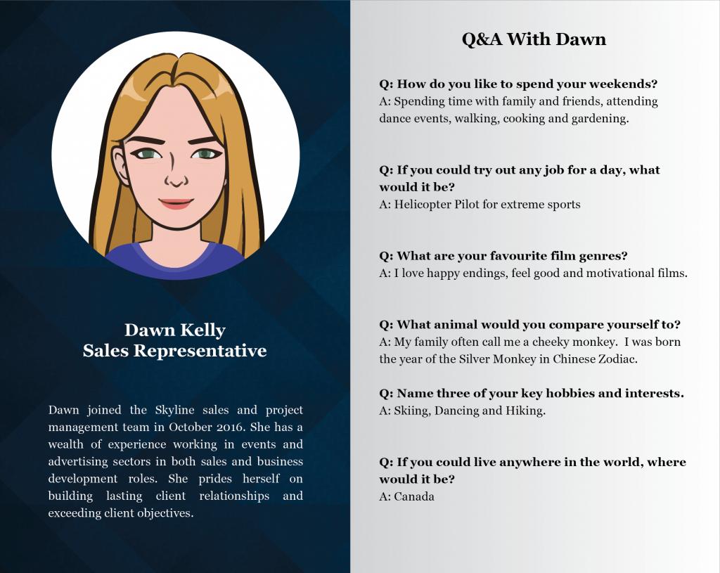 Staff Profiles  - Dawn