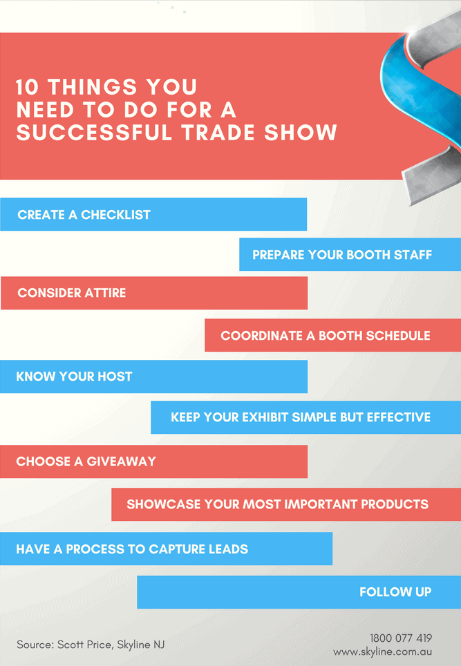 FactFriday - Tips for a Successful Trade Show