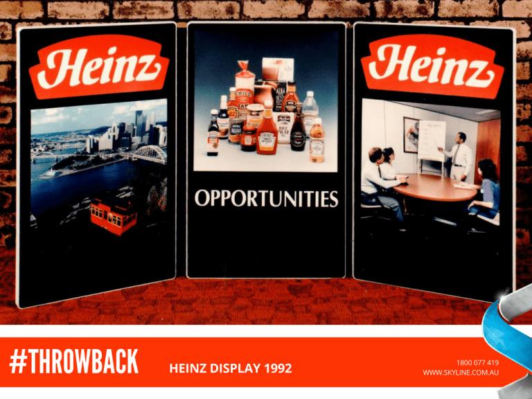Heinz Display 1992