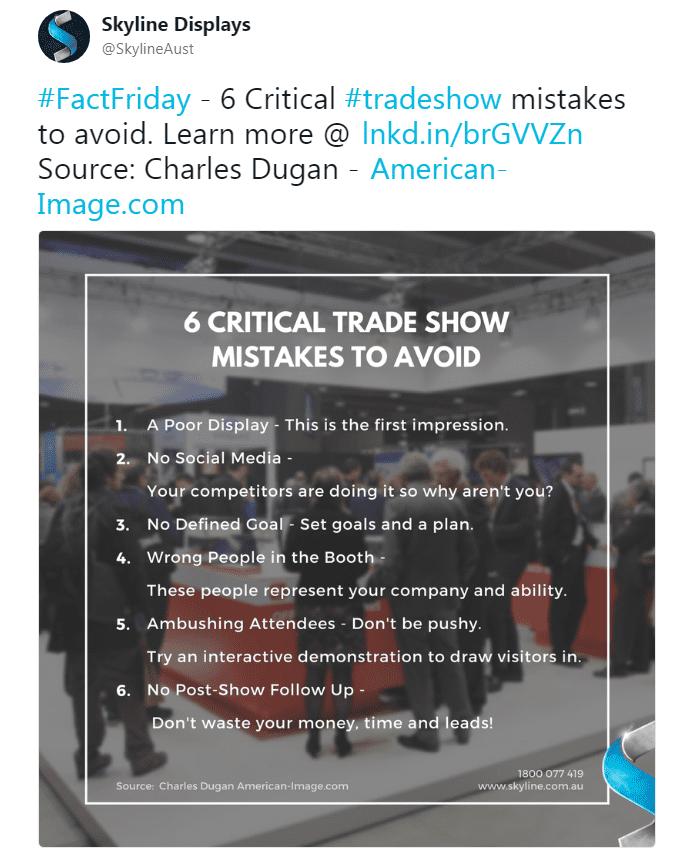 Trending on Social Media - Fact Friday Tweet