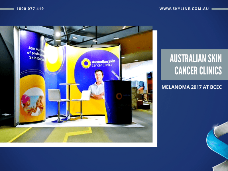 ASCC Portable Display Booth at Melanoma 2017