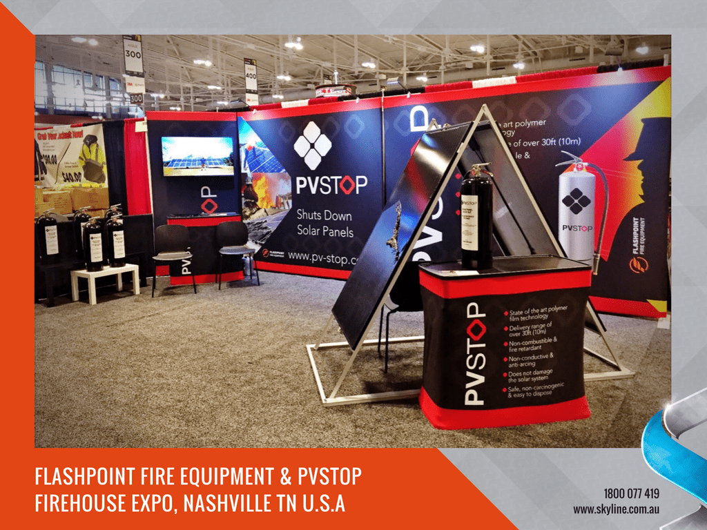 Flashpoint & PVStop Trade Show Display