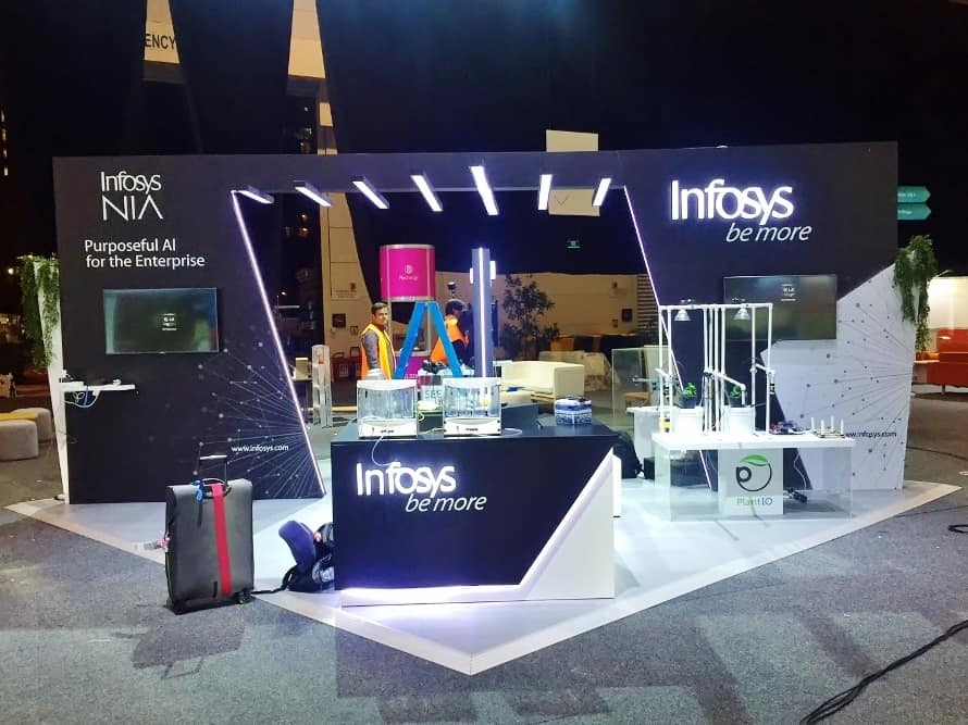 Infosys Custom Display for Telstra Vantage