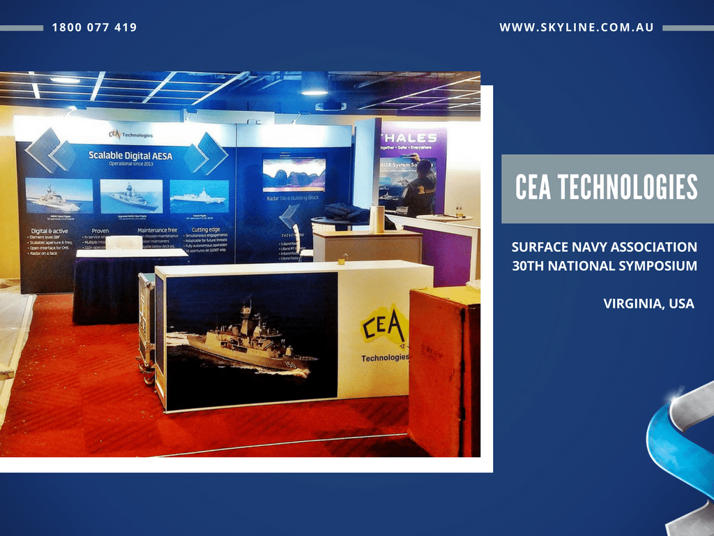 CEA Technologies at Surface Navy Association Symposium